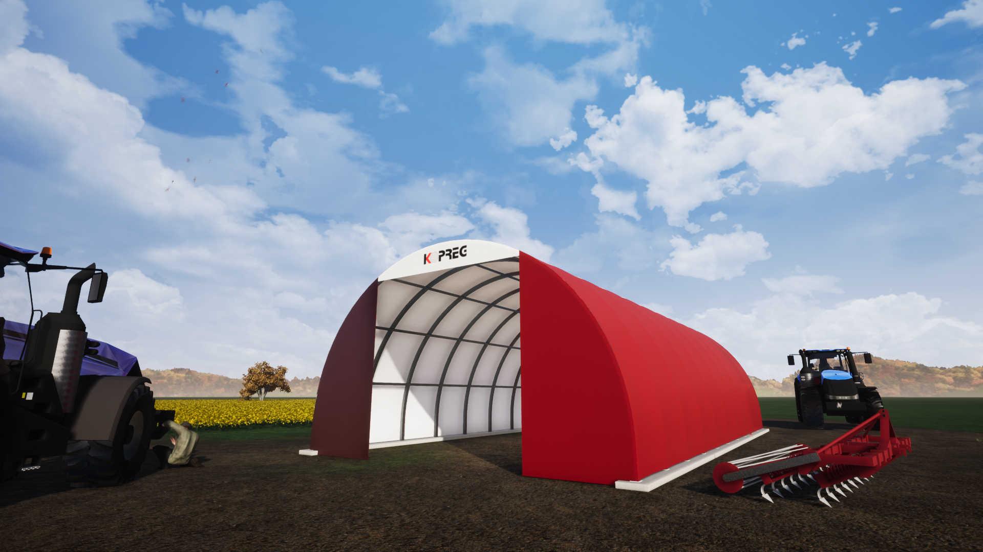 Tunnel prefabbricato ad arco, la risposta ideale alle esigenze logistiche del settore agricolo